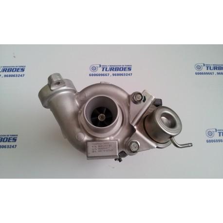 Turbo TD02,1.6HDI(90cv) Citroen,Peugeot,Ford