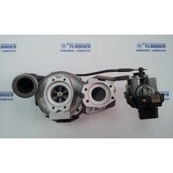Turbo VW Touareg 5.0TDI,V10,R50,230/257kW,313/350cv