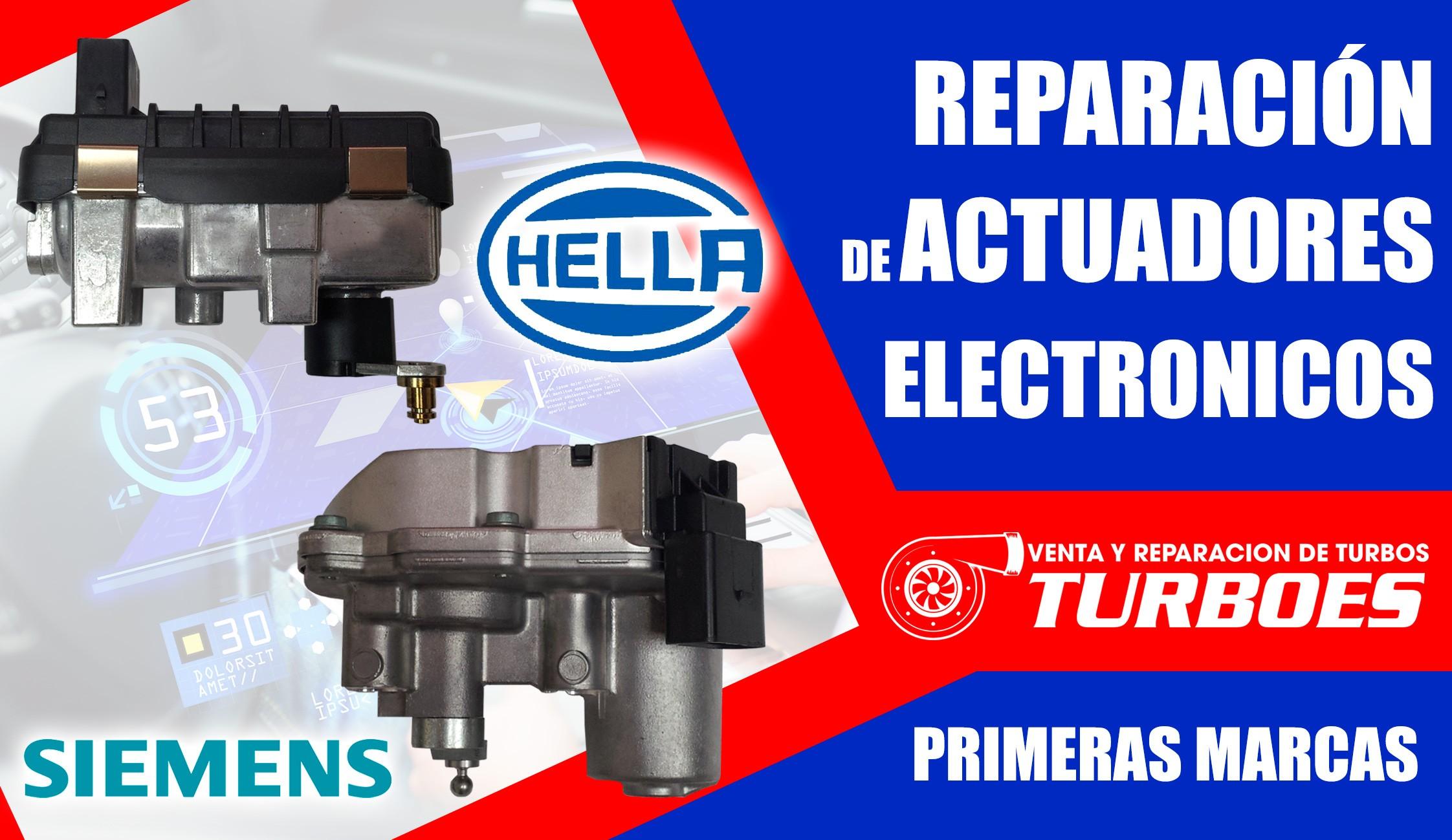 Reparacion actuadores electrónicos